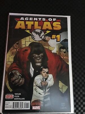 Agents Of Atlas Lot From Marvel Comics With Variant Free Shipping