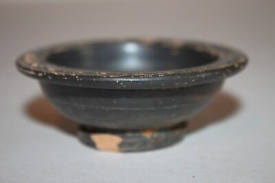 ANCIENT GREEK  HELLENISTIC POTTERY SALT DISH 3rd Century BC