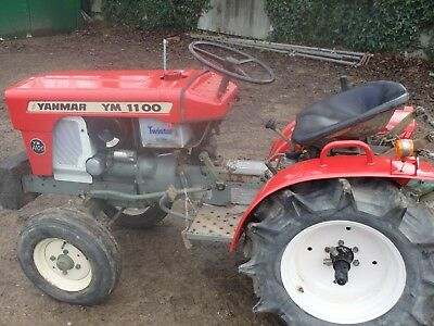 Yanmar YM1100 2WD COMPACT TRACTOR 11 HP WITH ROTAVATOR