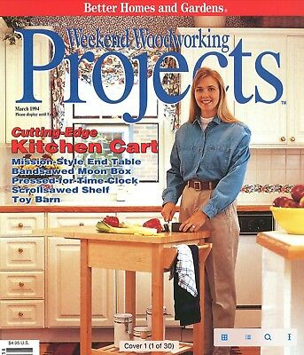 Weekend Woodworking Projects - PDF Download