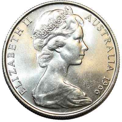 Australian 1966 round 50 cent Silver Coin (80% Silver) - Collectors Item