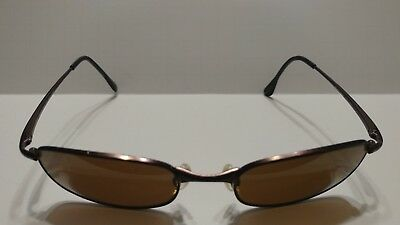 2204b10b4d0 RAY BAN RB3132 012 47 52 19  BROWN POLARIZED SLEEK FLEX HINGES SUNGLASSES