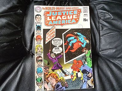 Justice League of America # 80 nice condition