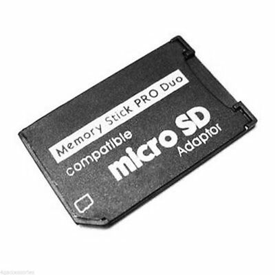 Micro SD TF To Pro Duo Memory Stick Adapter for PSP ZX