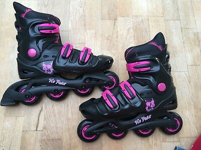 No Fear Rollerblades womens expandable size 5 - 8 UK
