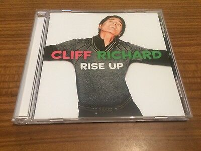 CLIFF RICHARD Rise Up CD 2018 NEW Sealed
