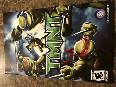 Tmnt - Playstation 2 Ps2 - Instruction Manual Only