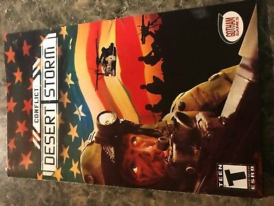 Conflict Desert Storm - Playstation 2 Ps2 - Instruction Manual Only