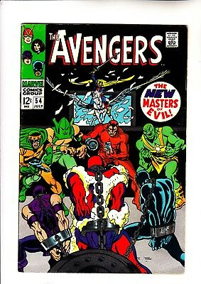 Avengers 54 and 55 1st app of Ultron