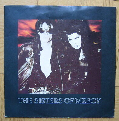 """The Sisters Of Mercy - This Corrosion / 7"""" / 1987 / UK Press"""