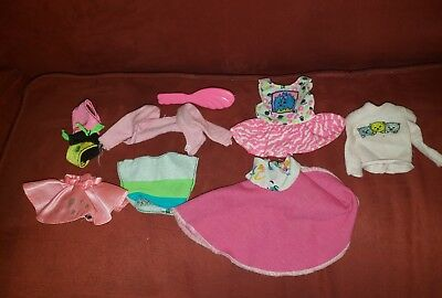 Barbie Clothes Lot Of 7 Plus Brush Vintage Early 90s