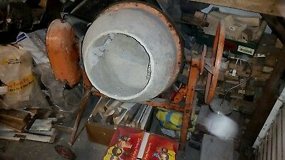 240v Electric Cement Mixer Concrete Working (possibly Belle?) but needs repairs