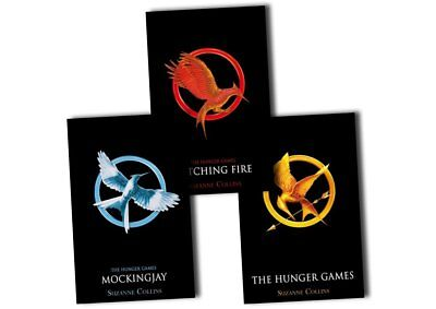 The Hunger Games Trilogy (Books 1-3) by Suzanne Collins (Very Good Condition)