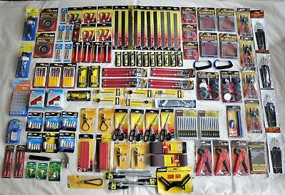JOB LOT TOOLS - NEW - IN PACKAGING - 115 ITEMS - Can Collect