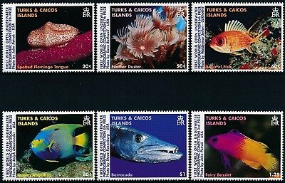 [H15923] Turks & Caicos 1997 FISHS - Fauna Good set of stamps very fine MNH