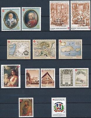 [H15981] Order of Malta 1998-99 Good lot of stamps very fine MNH