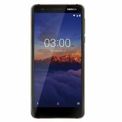 """Nokia 3 5.2"""" Smartphone Octa-Core 16GB 13MP Android Blue Locked to Tesco Mobile"""