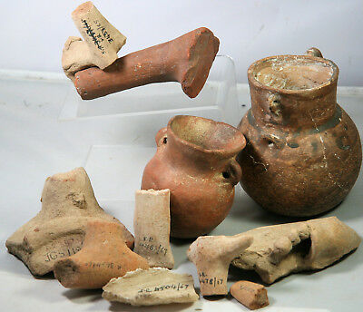 Pottery vases and fragments, probably from Cyprus / Cypriot