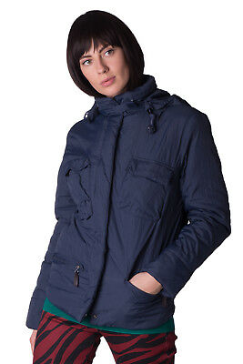 MET Jacket Size L Padded Adjustable Waist Concealed Hood Funnel Neck RRP €260