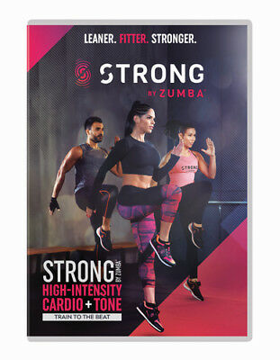 Strong By Zumba DVD (2018) Michelle Lewin ***NEW***