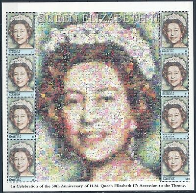 [HF15082] Antigua & Barbuda 2001 ELIZABETH II - Royalty Good sheet very fine MNH
