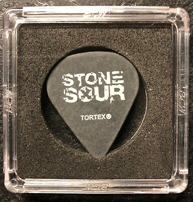 "Stone Sour Josh Rand 2006 ""Come Whatever May"" black tour guitar pick"