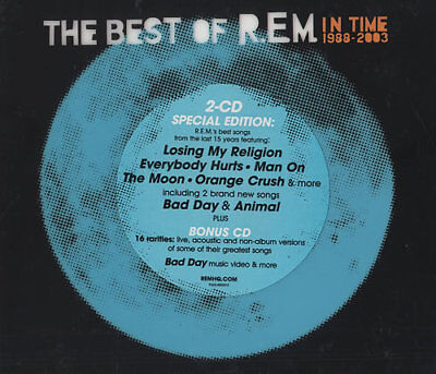 REM In Time 1986-2003 2 CD album (Double CD) UK 9362-48602-2 WARNER 2003