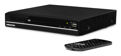 Medion ® LIFE® E71021 (MD 80036) DVD-Player Schwarz USB HDMI Xvid MPEG4 MP3 JPEG