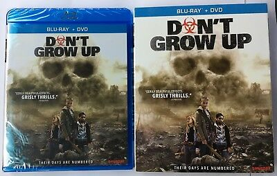Dont Grow Up (Blu-ray/DVD, 2018) New W/ Slipcover - Free Shipping -