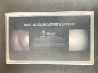 "VHS ""Merlin l'enchanteur"""