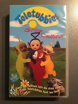"VHS ""Teletubbies : Gros calins"""