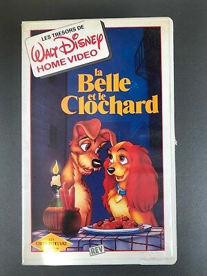 "VHS ""La belle et le clochard"""