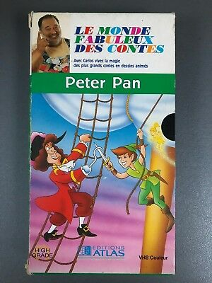 "VHS ""Peter Pan : Edition Atlas"""
