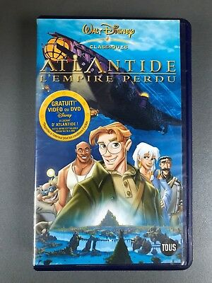 "VHS ""Atlantide : L'empire perdu"""