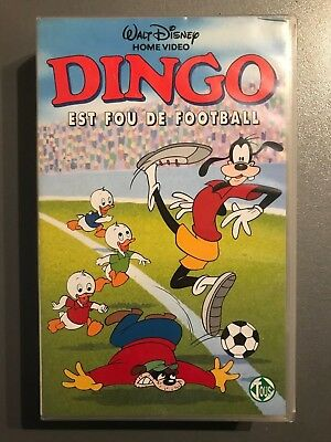 "VHS ""Dingo est fou de football"""