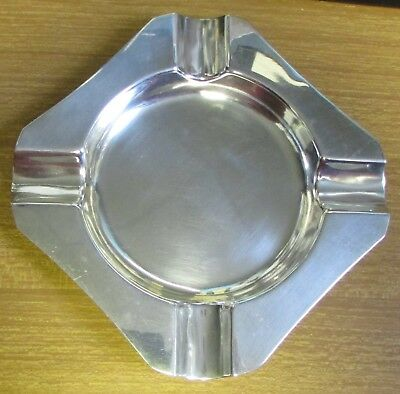 1971 Hallmarked Sterling Silver Ashtray