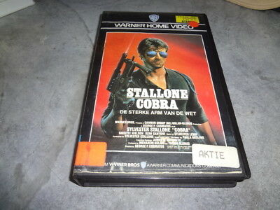 vhs - Cobra (Sylvester Stallone) - WARNER HOME VIDEO