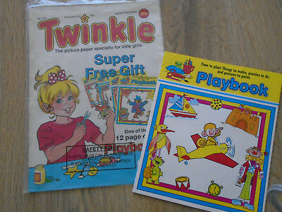 Twinkle Comic # 1241 Nov 2nd 1991 & free gift Playbook
