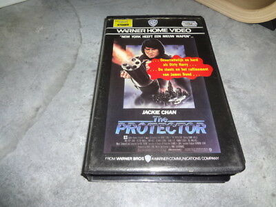 vhs - The Protector (James Glickenhaus) - WARNER HOME VIDEO