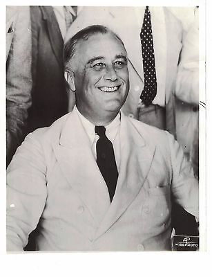 Original 1936 Photo of President Franklin Roosevelt 8x10  dated 12-15-1936