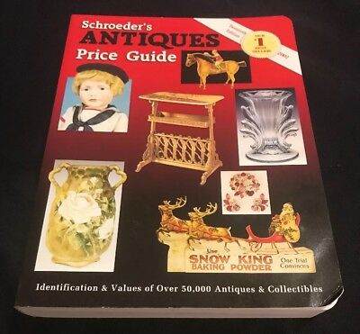 Schroeder's Antiques Price Guide 2002 Paperback Book 20th Edition