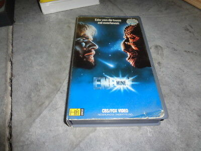 vhs - Enemy Mine (Wolfgang Petersen) - CBS FOX