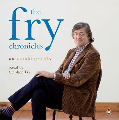 NEW Fry Chronicles Cd, The By Stephen Fry Paperback Free Shipping