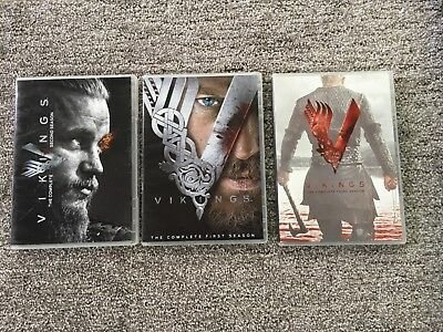 Vikings The Complete First, Second, and Third Season DVD