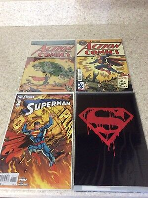 Superman Special Edition Comic Lot of 4
