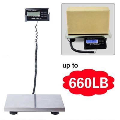 Heavy Duty 660LB 300KG Industrial Platform Postal Weighing Scales Parcel Weight
