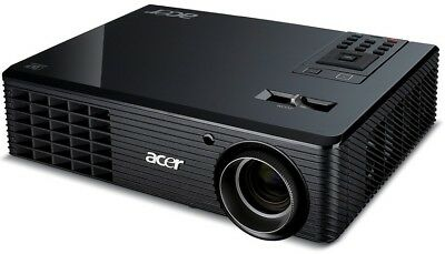 High End HDTV ACER 3.000 AnsiLumen Beamer 17.000:1 Kontrast, HDMI, FULL HD komp.