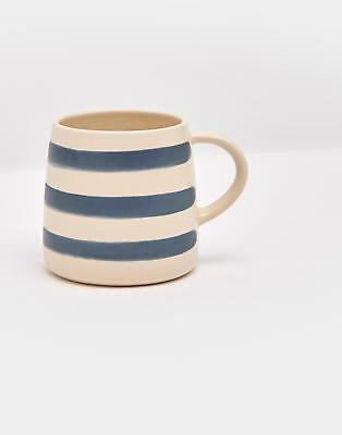 Joules Galley Grade Mug in FRENCH NAVY STRIPE in One Size