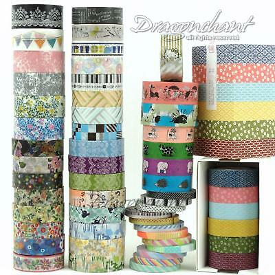 Japanese MT Washi Masking Tape COLLECTION MIXED Self Adhesive Roll Craft