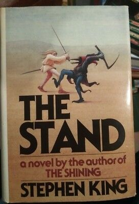 The Stand by Stephen King 1978 hardcover with jacket, T51 on page 823